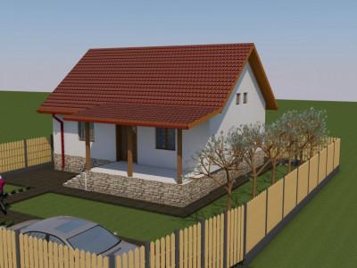 Casa la Cheie Margineni- zona rezidențiala