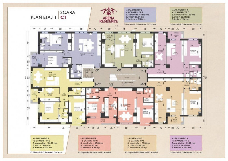 Apartament la cheie Bloc 2021#COMISION 0%